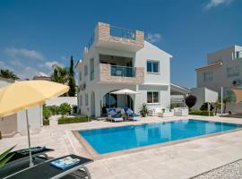 Villa Verdi: Luxury villa with private pool, hotel near Lara Beach, Peyia