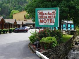 Marshall's Creek Rest Motel, motel in Gatlinburg