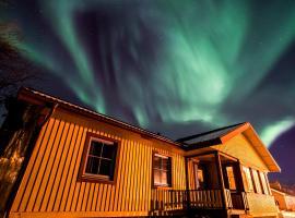 Lovely house in Abisko, hotel near Aurora Sky Station, Abisko