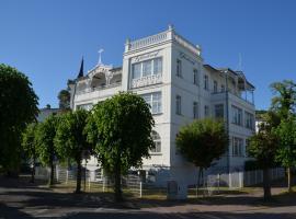 Strandvilla Glückauf, serviced apartment in Binz