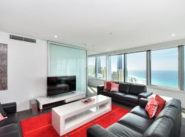 3 Bedroom Ocean View Private Apartment in Surfers Paradise, hotel near Ripley's Believe It or Not!, Gold Coast