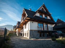 Willa Kasztan – hotel w pobliżu miejsca Wyciąg Szymoszkowa w Zakopanem