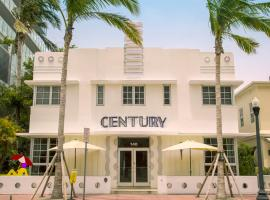 Century Hotel, hôtel à Miami Beach (South Beach)