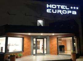 Hotel Europa, hotel in Elblag