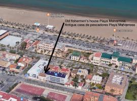 Old Fisherman's House in Malvarrosa Beach, hotel cerca de Playa de La Malvarrosa, Valencia