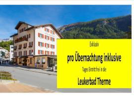 Hotel Heilquelle, hotel in Leukerbad