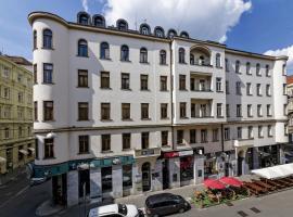 Penzion Dvořákova – hotel w mieście Brno
