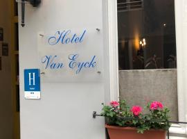 Hotel Van Eyck, pet-friendly hotel in Bruges