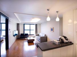 Plea De Blanc Hotel & Residence, hotel in Busan