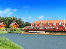 Lacul Racilor, hotel in Olimp