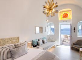 Secret Legend Suites, hotel in Oia