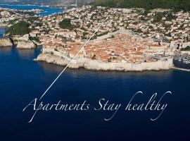Stay Healthy Apartments, three-star hotel in Dubrovnik