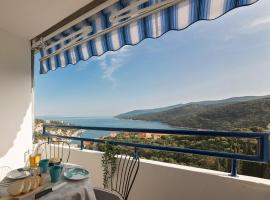 Apartment MarVista with Beautiful Sea View 2+2, luxury hotel in Rabac