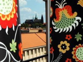 Panorama Prague Studio, hotel near Dejvická Metro Station, Prague