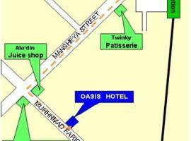 Oasis Hotel, отель в Луксоре