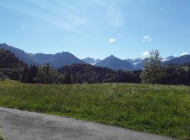 Tiefenbacher Hof, serviced apartment in Oberstdorf