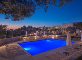 Ourania Apartments, hotel with pools in Gouves