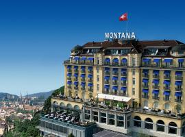 Art Deco Hotel Montana, hotel in Lucerne