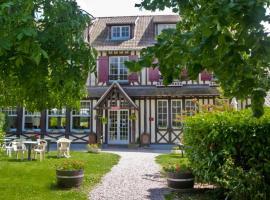 Logis Auberge des Aulnettes, hotel in Houlgate