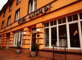 Ringhotel Altstadt, отель в Гюстрове
