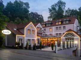 Hotel Atrium Garni, hotel with jacuzzis in Passau