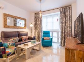 Homemálaga Álamos Parrot, accessible hotel in Málaga