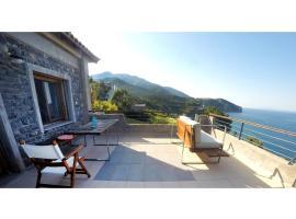 Frictories station of residency, ξενοδοχείο κοντά σε Παραλία Χιλιαδού, Λιμνιώνας