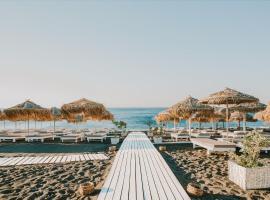 Sea View Beach Hotel, hotel in Perivolos