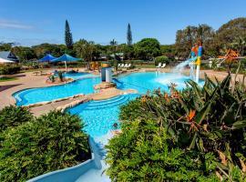 BIG4 Park Beach Holiday Park, resort village in Coffs Harbour
