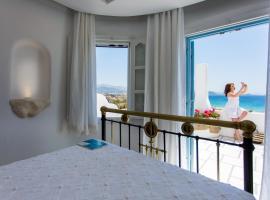 Naxian Riviera Exclusive Seafront Suites, Junior Suite, hotel near Plaka Camping, Agios Prokopios