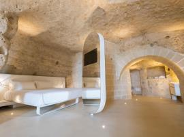 Aquatio Cave Luxury Hotel & SPA, hotel a Matera