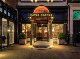 Boutique Hotel Corona, hotel near The Hague HS Station, The Hague