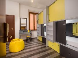 Free Hostels Roma, hotel económico en Roma