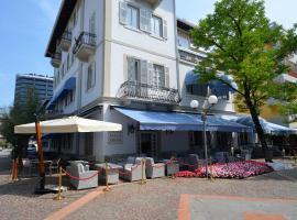 Hotel Villa Erica, hotell i Grado
