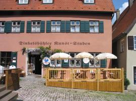 Dinkelsbühler Kunst-Stuben, hotel in Dinkelsbühl