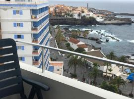 Estudio 2 Balcones Vistas Panorámicas Виды на океан, alojamiento con cocina en Puerto de la Cruz