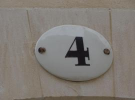Le 4, vacation home in Bayeux