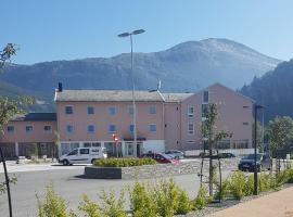 Glomfjord Hotel, hotel near Svartisen Glacier, Glomfjord