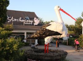 Storchencamp Gästehaus Purbach, hotel in Purbach am Neusiedlersee