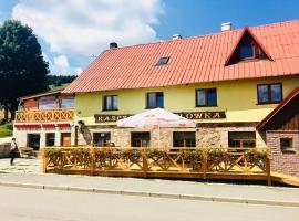 Gryglówka, hotel in Zieleniec