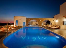 Vigla Hotel, hotel in Aegiali