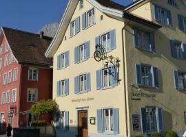 Hotel Lowen, hotel near Alt St. Johann-Sellamatt, Walenstadt