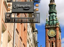 Hampton By Hilton Gdansk Old Town, отель в Гданьске