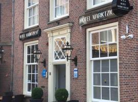 Hotel Marktzicht, hotel in Harderwijk