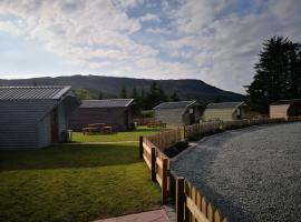 Skye Lodges, cabin in Portree
