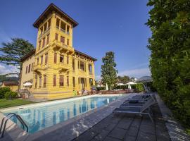Villa Moorings, hotell i Barga