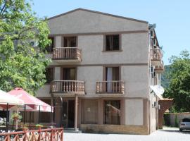 Hotel Kavkasioni, hotel in Kvareli