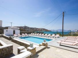 Anixi Hotel, hotel a Ornos