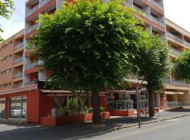 ホテル クリステル、ル・ピュイ・アン・ヴレのホテル