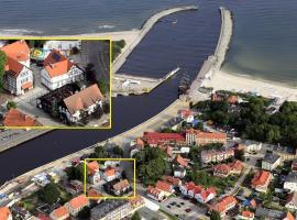 Fisherman's House, hotel with jacuzzis in Ustka